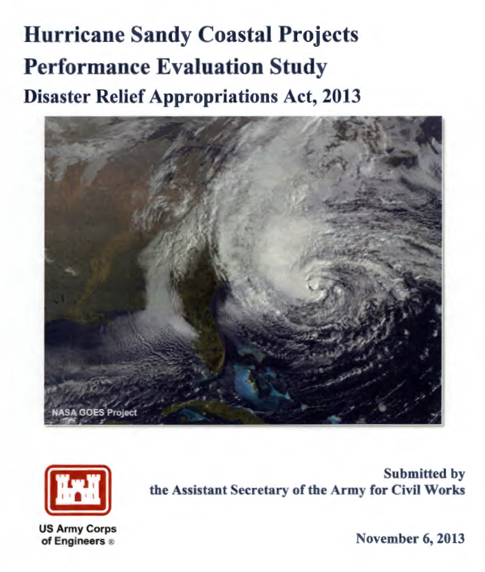 Click here to access the Post-Sandy Projects Performance Evaluation Report