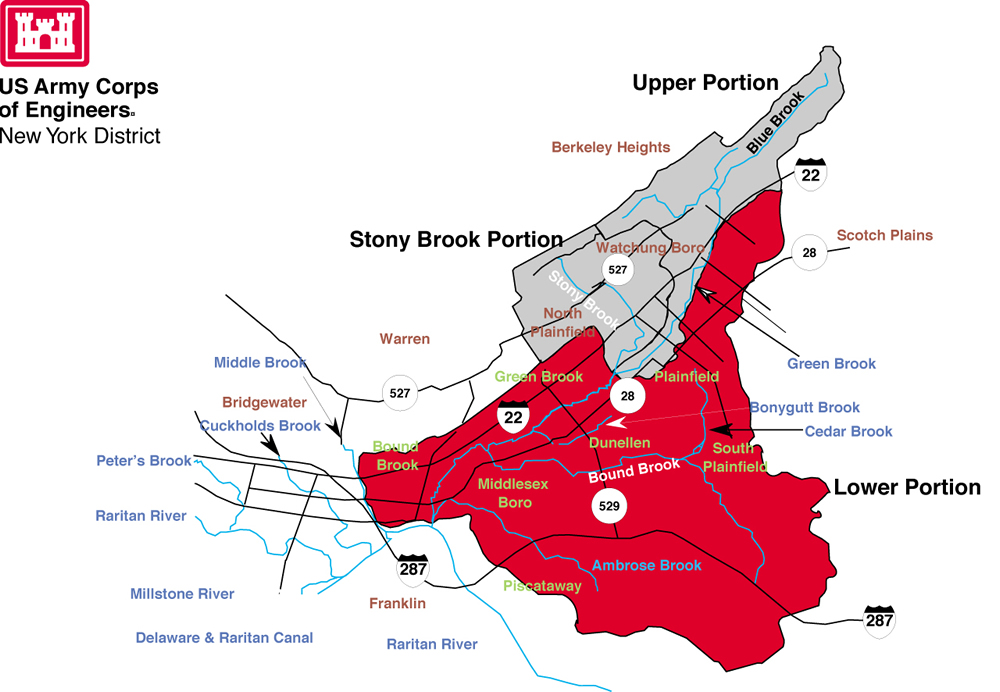 Green Brook Nj >> New York District > Missions > Civil Works > Projects in New Jersey > Green Brook Sub Basin