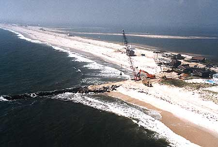 Westhampton during initial construction